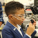 This is the image for the news article titled Clayton County Public Schools Welcomes  Romanieo Nicholas Golphin, Jr. as 2018 STEM Expo Guest Speaker