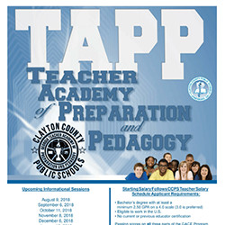 This is the image for the news article titled  CCPS to Host T.A.P.P. Informational Meetings Beginning Thursday, August 9