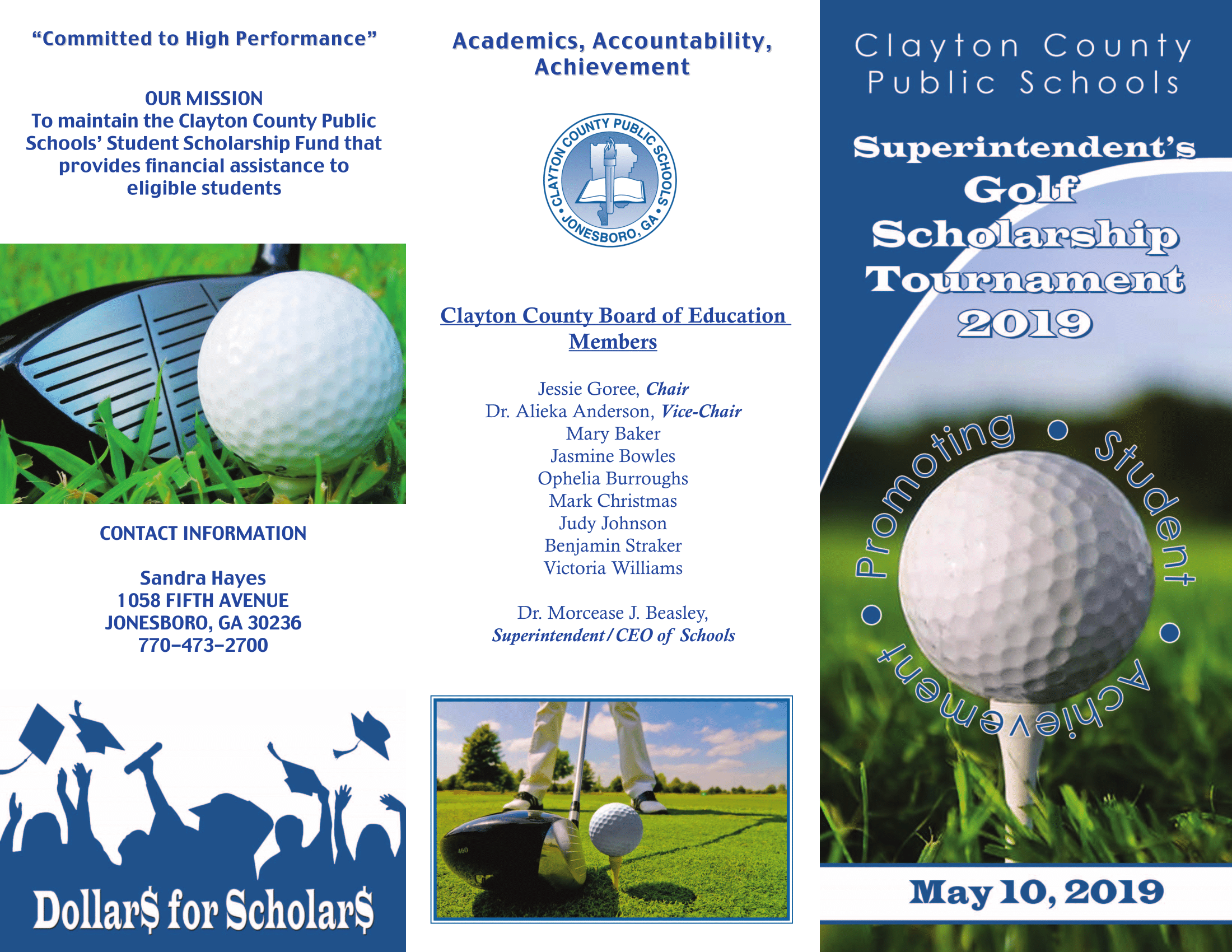 Superintendent's Golf Scholarship Tournament