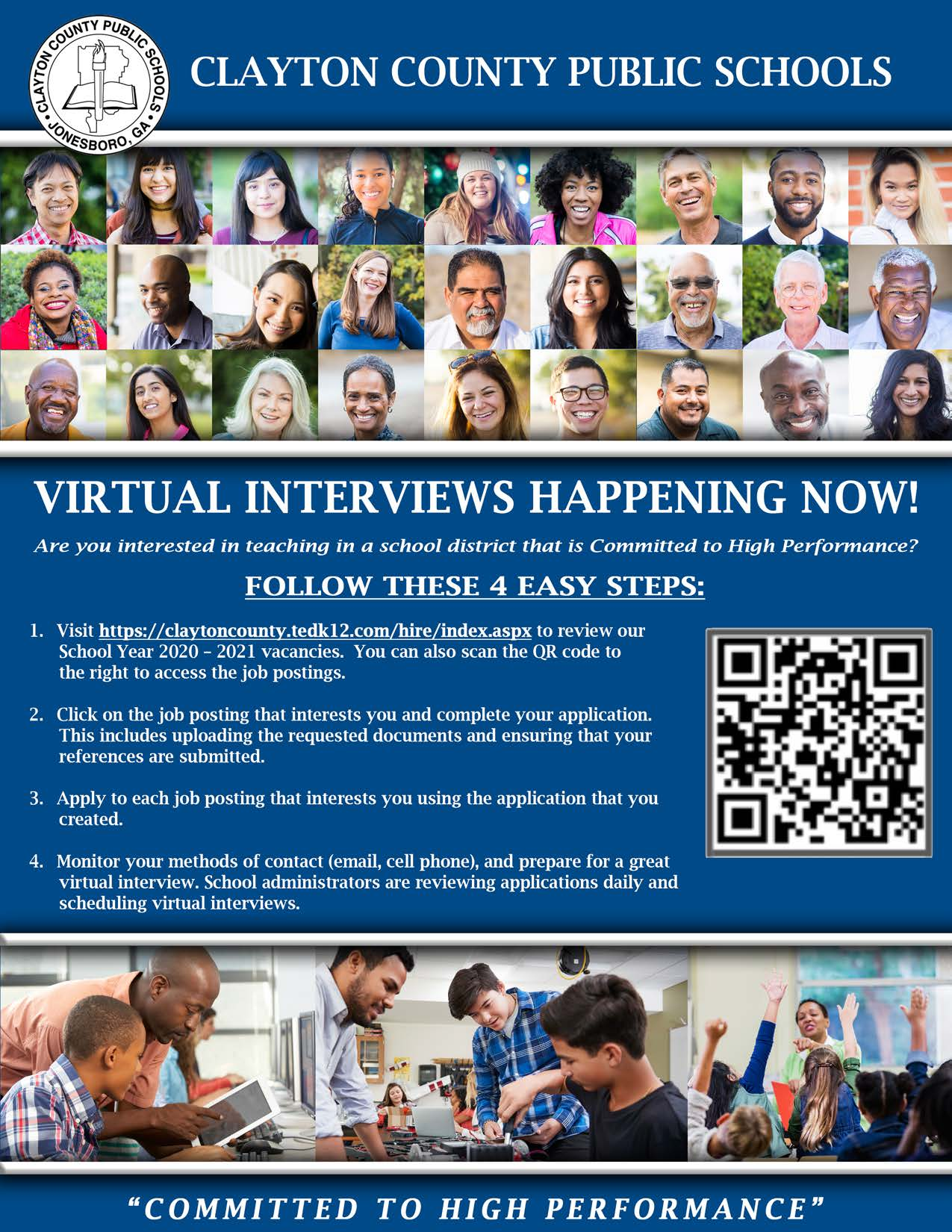 Virtual Interviews CCPS